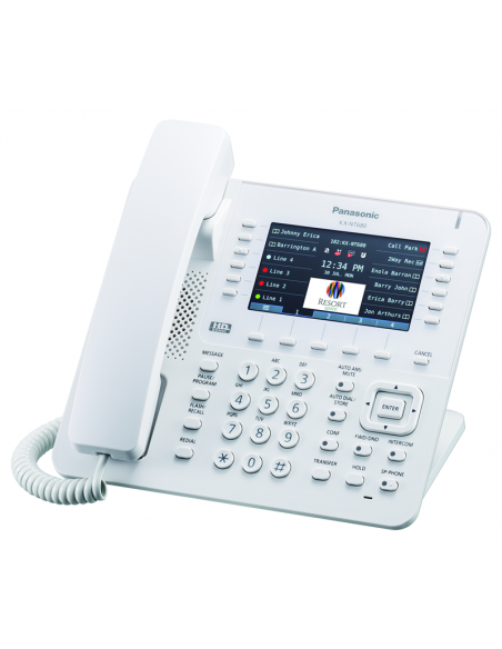 Kx Nt680 Panasonic Tel 233 Fono Ip Propietario De Sobremesa Poe