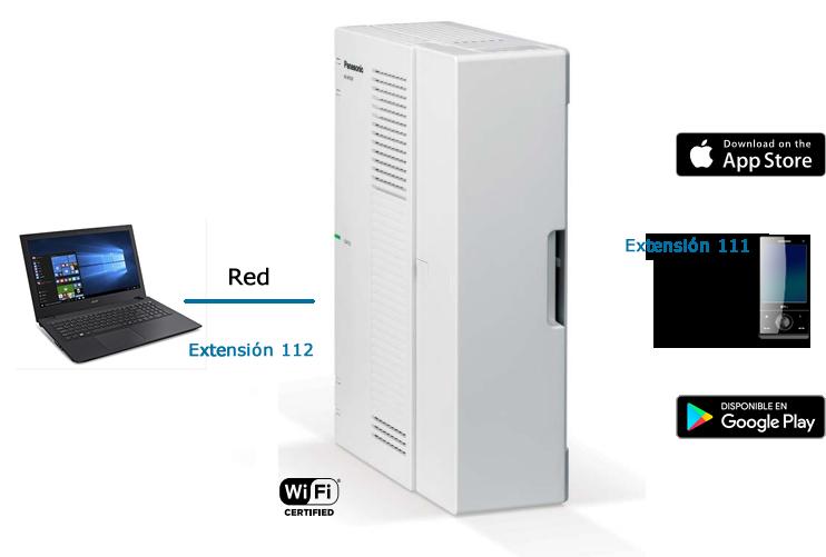 KX-HTS32 ¿Sabias que puedes conectar tu móvil o pc a tu centralita convirtiéndolo en una extensión mas de tu oficina?