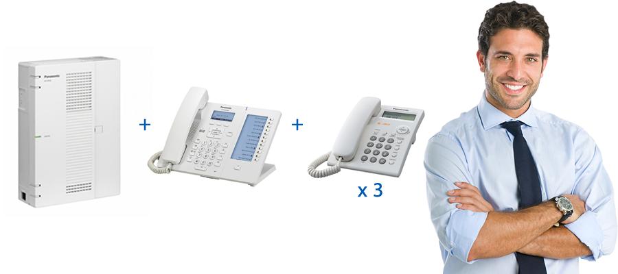oferta centralita telefónica panasonic kx-hts32